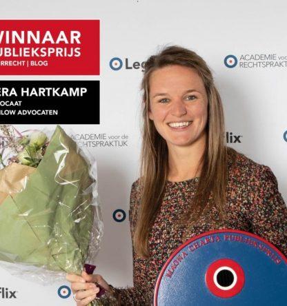 Tomlow Advocaat Vera Hartkamp wint publiekprijs